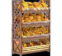 Стеллаж хлебный Стх01