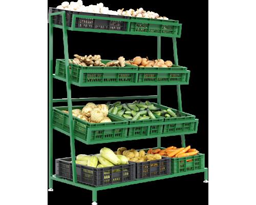 Стеллаж плодово-овощной Спо 3
