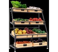 Стеллаж плодово-овощной Спо 2